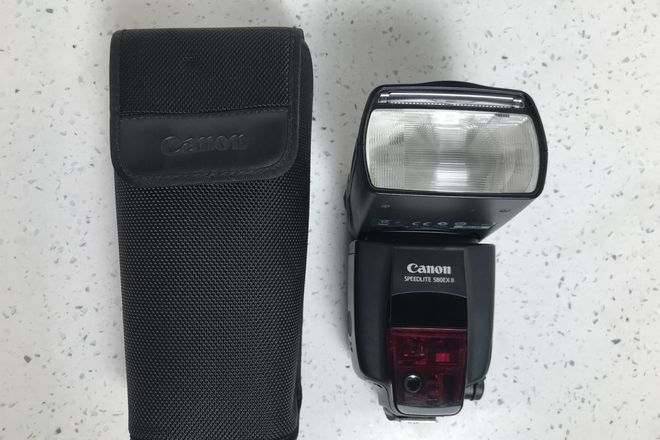 Canon Speedlite 580EX II External Flash