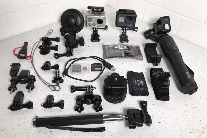 GoPro FULL KIT w/ Hero 5, Karma Gimbal & Motorized Pan Head