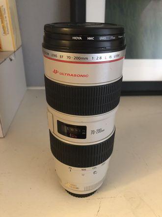 Canon L Series 70-200mm 2.8