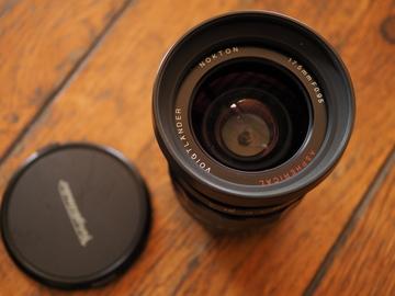 Voigtlander Nokton 17.5mm f/0.95 Manual Focus Lens for M 4/3