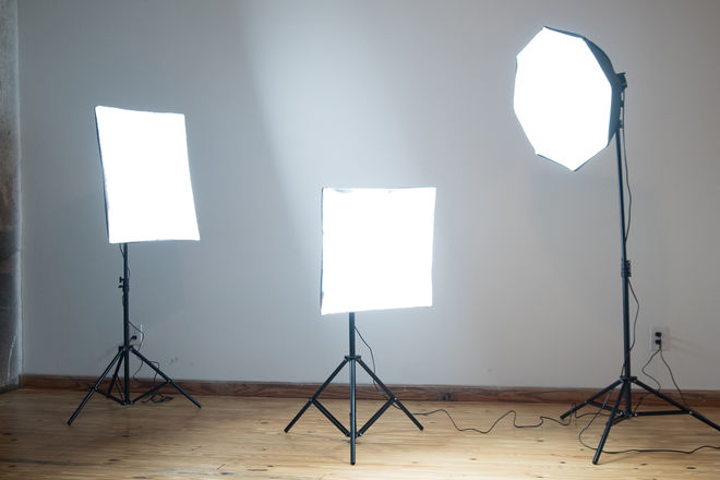 Impact FF-S4 3-Light Daylight Softbox Light Kit