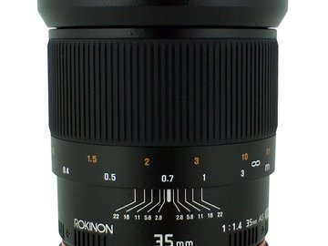 Rent: Rokinon 35mm EF Mount
