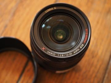 Rent: PANASONIC LUMIX G X Vario Lens, 12-35mm, F2.8 ASPH micro 4/3