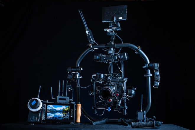 RED Gemini 5K | MoVI Pro Gimbal + Cinema Package (5/5 CHI)