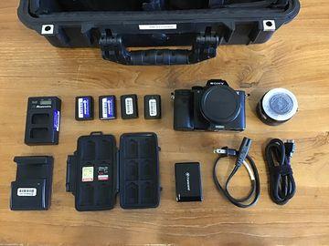 Sony A7SII - 4K Camera with Metabones EF