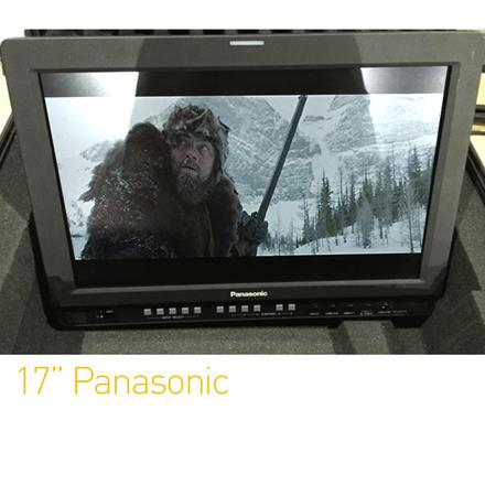 "Panasonic 17"" Directors Monitor | SDI/HDMI"