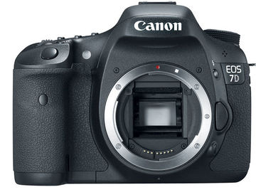 Canon EOS 7D - Body, Cards, & Batteries