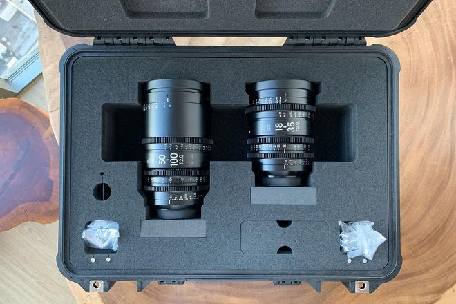 Sigma 18-35mm T2 & 50-100mm Cine High-Speed Zoom EF Lenses