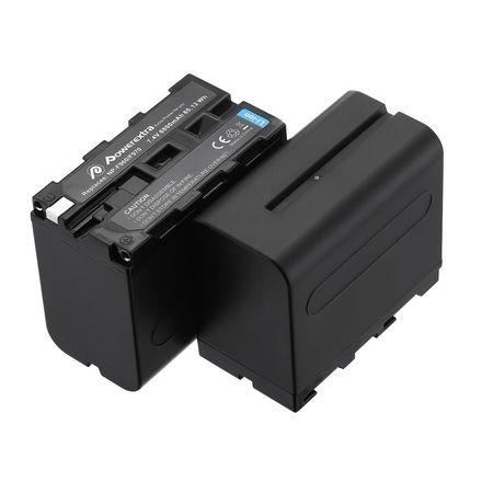 2 NP-F970 Battery 8800mAh