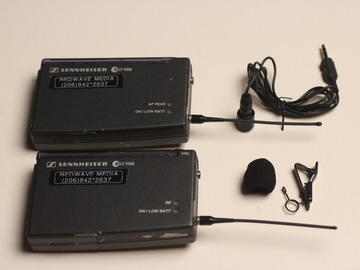 Rent: Sennheiser EW100 G1 Wireless Transmitter/Receiver/Lav Mic
