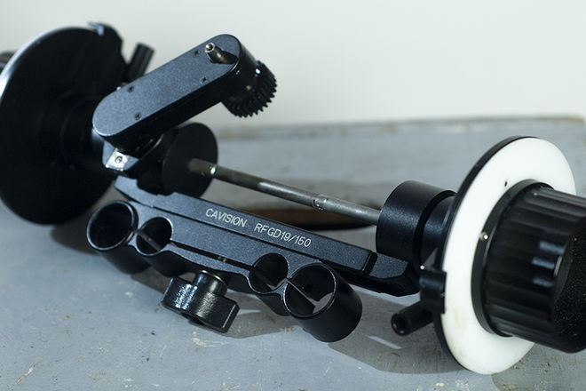 Follow Focus - Dual Sided - 19mm and 15mm rods