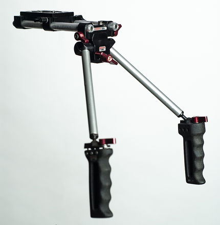 Zacuto Grips and base for C300 Mark II