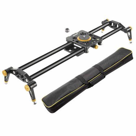 Carbon Fiber Camera Track Slider  47.2 inches + 2-tripods