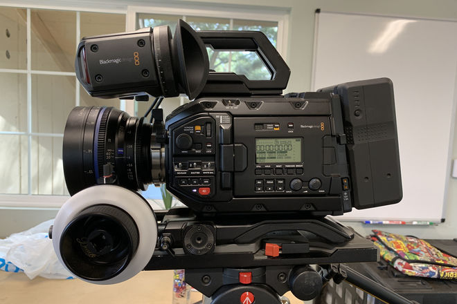 URSA Mini 4.6K Pro Camera Package