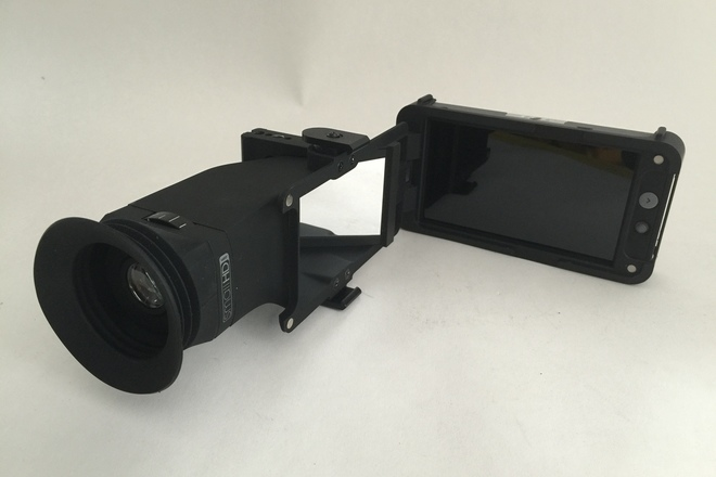 SmallHD EVF 502 Sidefinder with SmallHD 502 On-Camera Monito