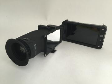 SmallHD EVF 502 Sidefinder with SmallHD 502 On-Camera Monito