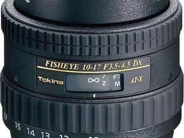 Tokina Fisheye 10-17mm F3.5-4.5