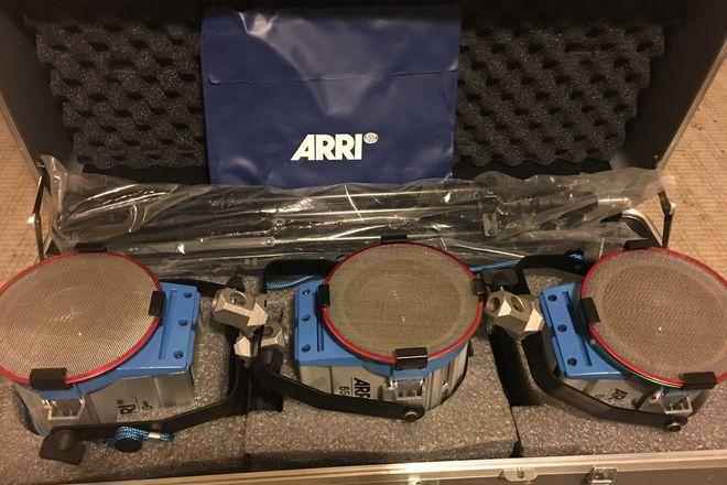 ARRI Tungsten (3x) 650 Light Kit