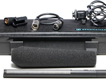 Rent: FULL BOOM KIT :: Sennheiser MKH416 P48