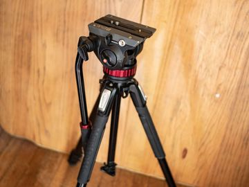 Manfrotto 502AH Video Head and Tripod