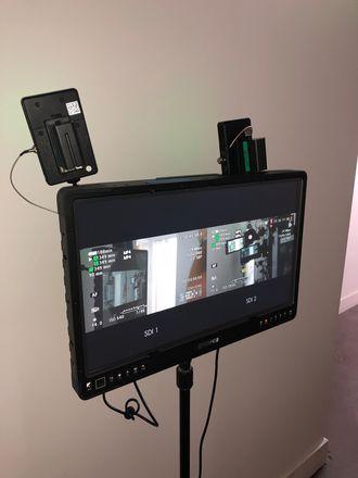 "Dual Wireless SmallHD 2403 24"" Monitor"