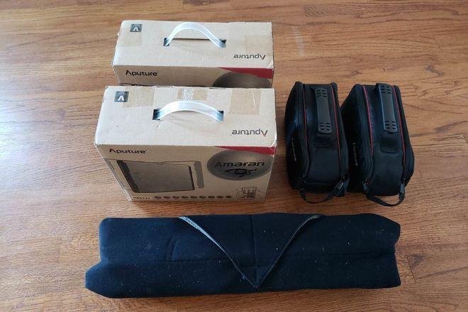 Aputure 4-point ultra portable kit