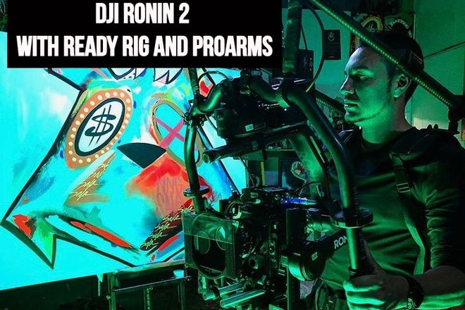 DJI Ronin 2 with Ready Rig and Pro Arms