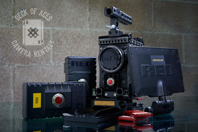 RED Epic Dragon 6K Package/ Includes FD Lenses Set And More!