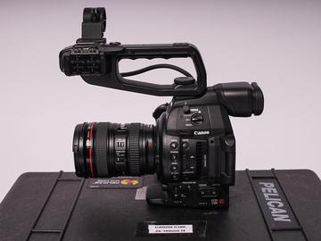 Rent: Canon C100 Mark II + 24-105 L series Lens