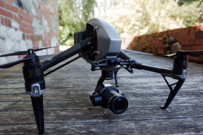 Inspire 2 & X7 with 4 DL Lenses