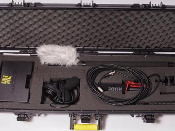 Zoom H6 + Sennheiser ME64-K6 + Boom