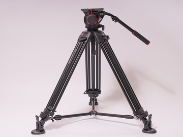 Manfrotto 504HD + 546B Tripod