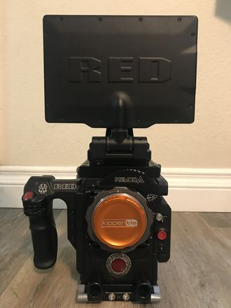 Red Camera package 8K W/Kippertie ND's (EF)