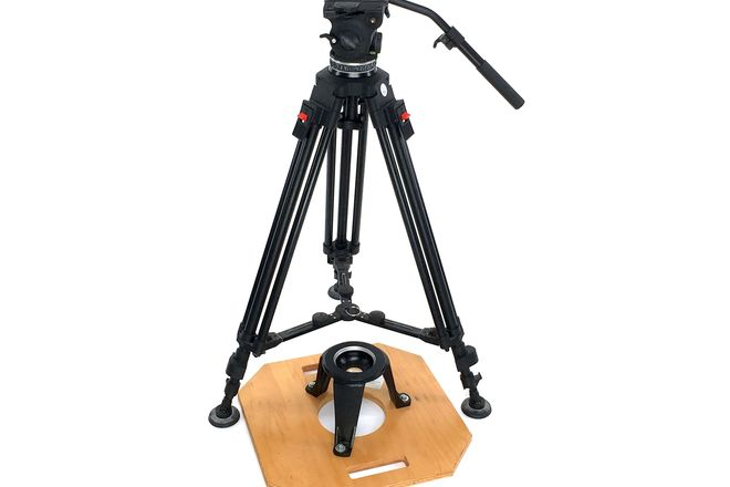CARTONI FOCUSHD TRIPOD + HI-HAT (100mm)