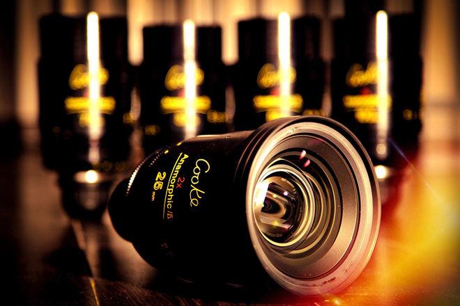 Cooke Anamorphic/i Prime Lens Set (Set of 5) 25mm - 100mm