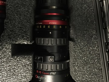 Rent: Angenieux Optimo Style pair (16-40mm & 30-76mm) T2.8