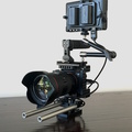 Rent: Sony A7sII with Cage, Canon lenses, Monitor, and Tripod