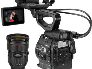 Rent: CANON C300 EF MARK I MKI WITH CANON 24-70MM 2.8L II LENS