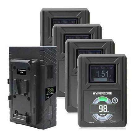 Hypercore Slim 98 V-Mount Battery Kit