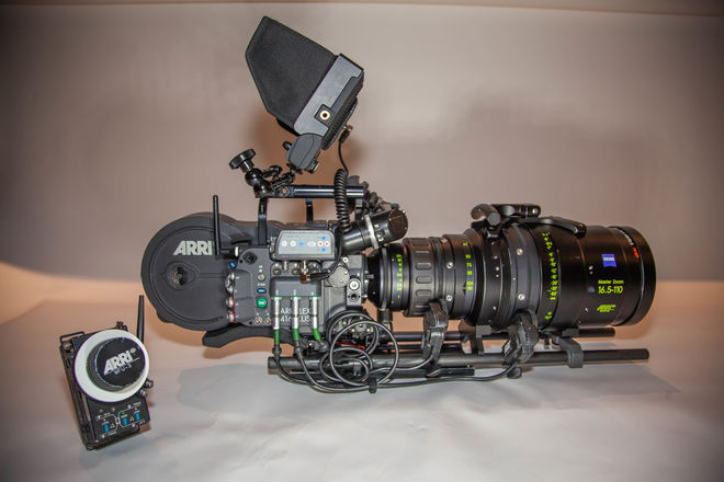 ARRI 416 Plus with ARRI/Zeiss Master Zoom Production Package