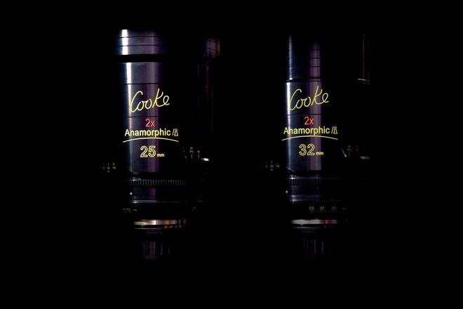 Cooke Anamorphic/i Prime 25 & 32mm Lens Set