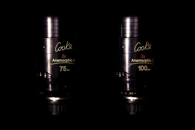 Cooke Anamorphic/i Prime 75 & 100mm Lens Set