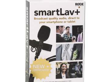 Rent: smartLav+ Rode Mic and 12ft. extension cable