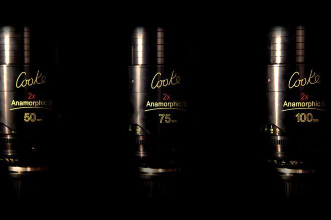Cooke Anamorphic/i Prime 50, 75 & 100mm Lens Set