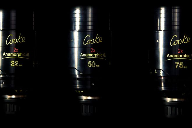 Cooke Anamorphic/i Prime 32, 50 & 75mm Lens Set