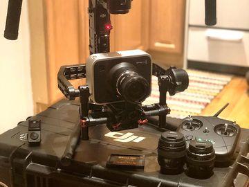 Dji Ronin + Blackmagic Design Production Camera 4K