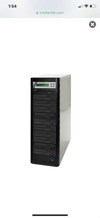 DVD Duplicator - 10 Bay