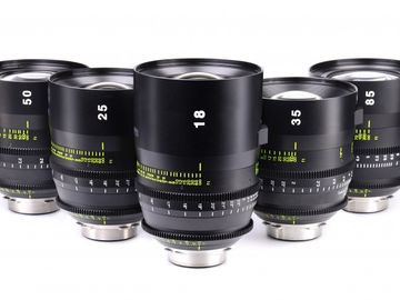 Rent: Tokina Vista Prime Lens Set (18,25,32,50,85)