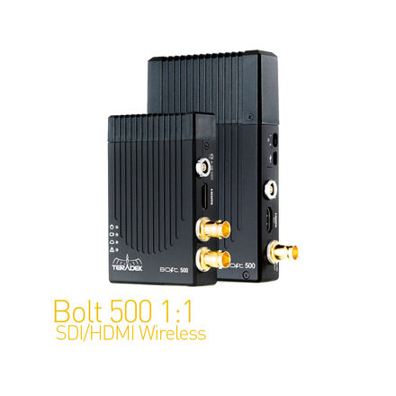 Teradek Bolt 500 SDI/HDMI Wireless Video Set 1:1 (1 of 2)