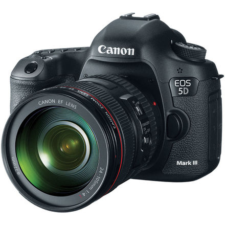 Canon EOS 5D Mark III with Canon EF 24-105 f/4